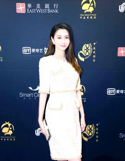 蓝燕中美电影节晚宴 双影片入围致辞感谢