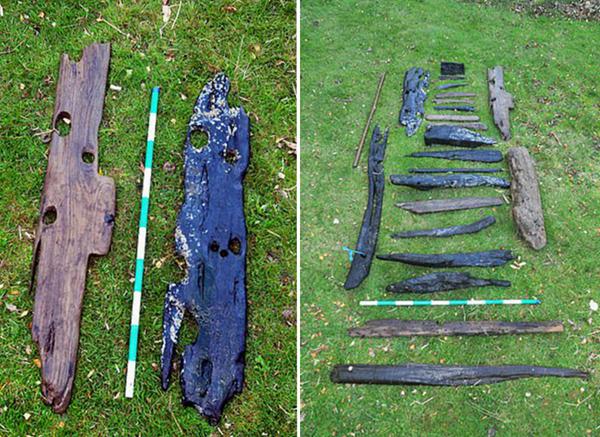 历史学家在英海域找到240年前美军舰残骸