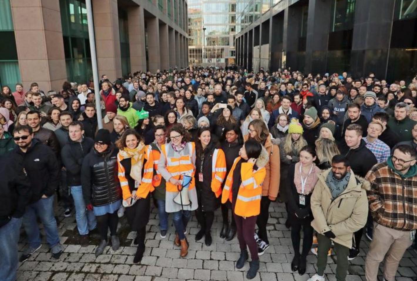 谷歌大罢工席卷全球:我们号称解决世界问题?