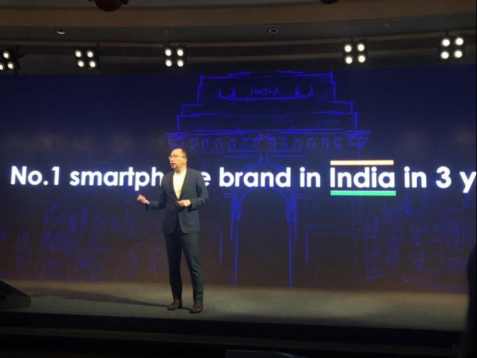 """荣耀手机: """"三年内做到印度市场第一"""""""