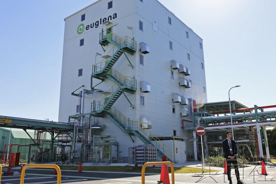 日本首座生物燃料生产工厂在横滨落成