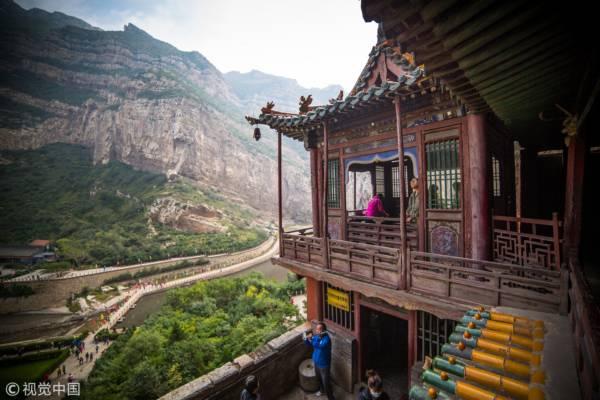 山西省,北岳恒山,懸空寺