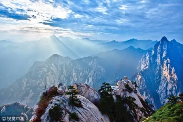 陜西渭南市,西岳華山,華山晨曦