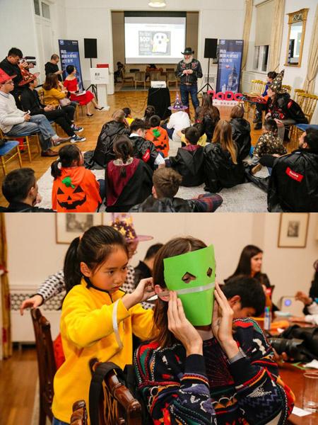 DaDa邀外教与孩子共赴英国驻华大使馆 体验多彩万圣节活动