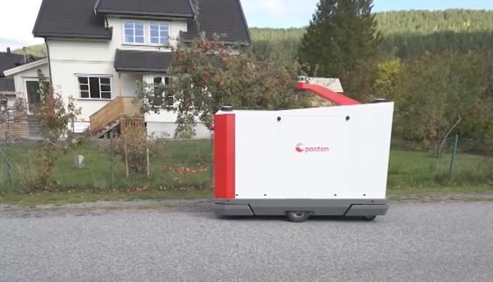 挪威邮政试用派件机器人 降低最后一公里人力成本