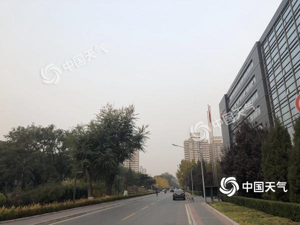 北京今明天大气扩散条件较差 周日冷空气来袭
