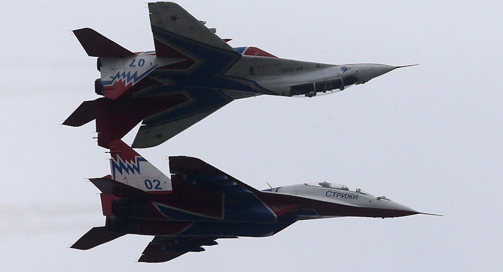 埃及一架米格-29战斗机坠毁 飞控系统出现故障