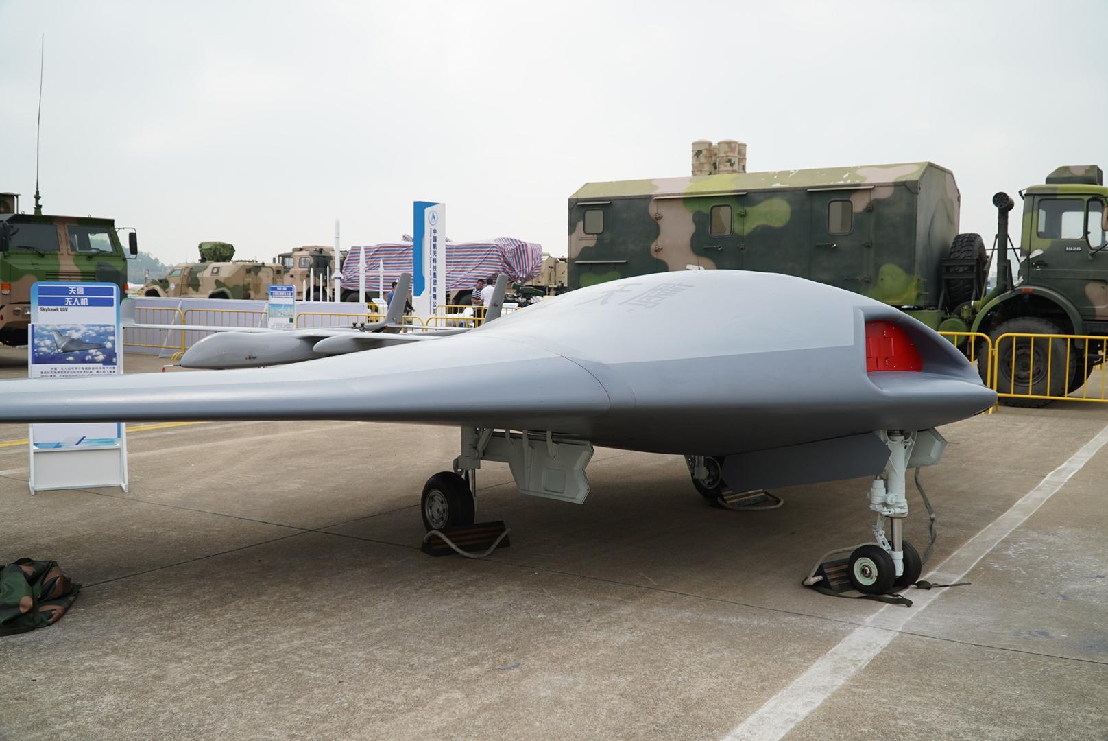 中国版X-47B?国产飞翼布局隐身无人机亮相