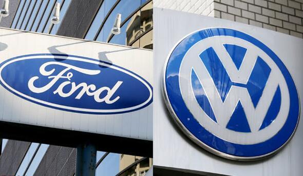 大眾和福特擬聯合開發純電動車和自動駕駛汽車