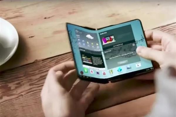 三星首款可折叠屏手机投产:外屏4.6寸 展开7.29寸