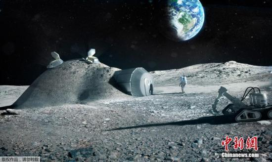 用月球土壤3D打印航天零件?俄航天集团提出新构想