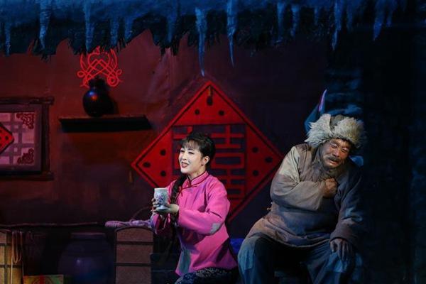朝鲜版歌剧《白毛女》在平壤上演