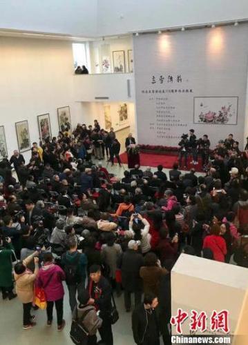 津门书画名家携作品赴京参展纪念王雪涛诞辰115周年