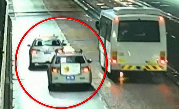 悉尼婚礼大巴车在海港大桥上自燃 乘客惊慌逃亡