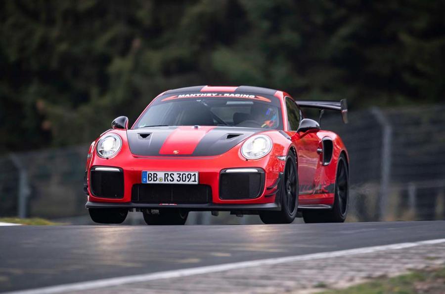 保時捷911 GT2 RS再創紐北賽道紀錄 成最強公路跑車