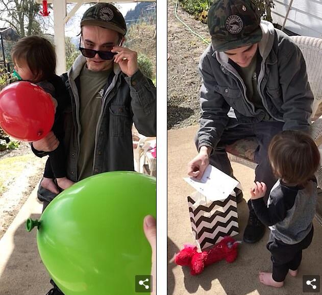 泪目!美色盲父亲戴高科技眼镜首次看清楚儿子