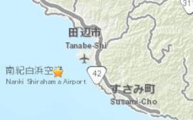 日本本州岛南部发生4.5级地震 震源深度38.7公里