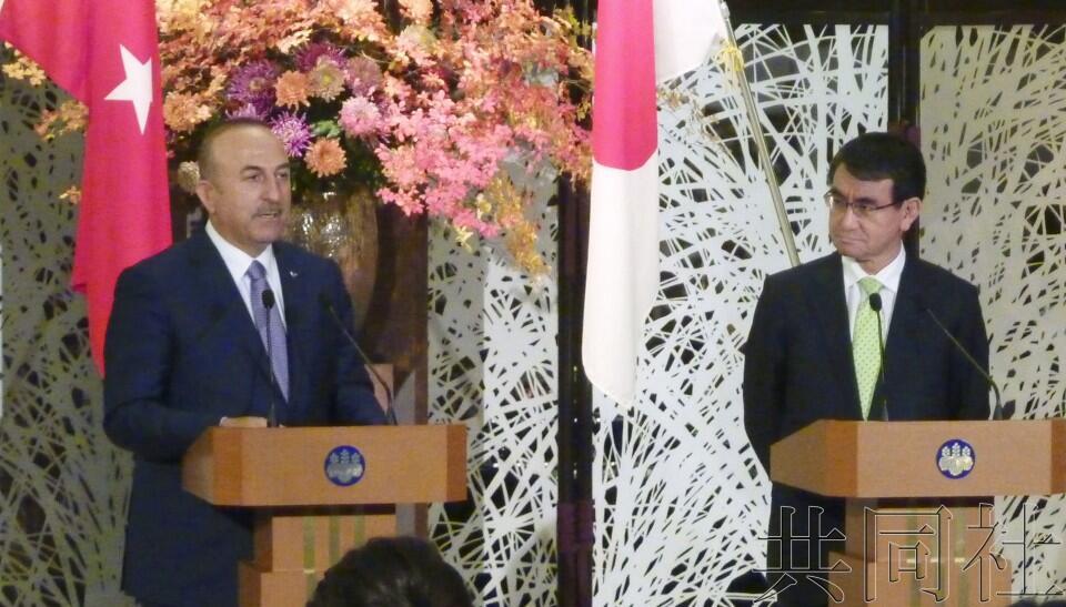 日本外相就日记者安田纯平获释向土耳其外长表示感谢