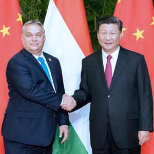 习近平会见匈牙利总理欧尔班