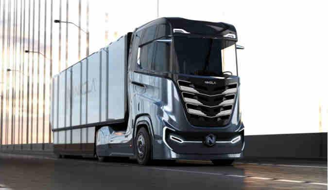Nikola发布第三代氢燃料半挂卡车:主打欧亚市场
