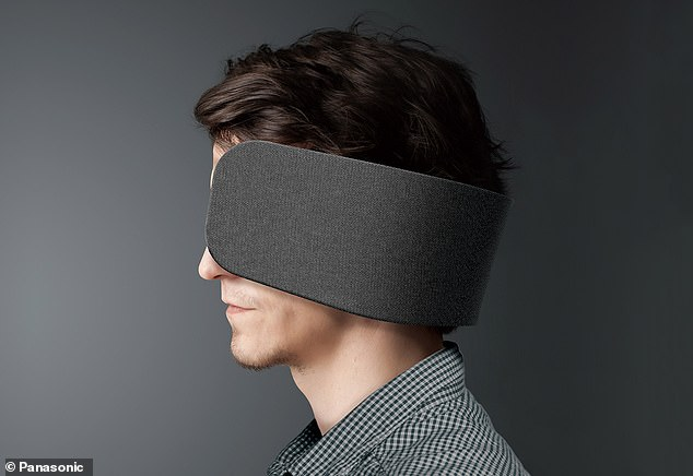 松下推出一款高科技眼罩 可助用户集中注意力