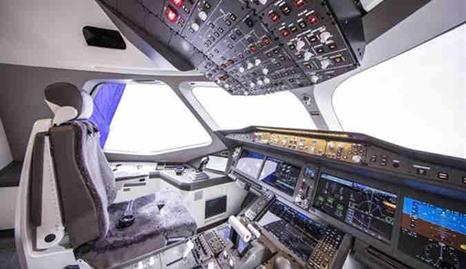 中俄联合CR929远程宽体客机样机亮相:内部探秘