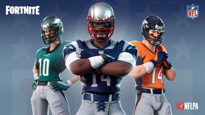 《堡垒之夜》与NFL联盟开展合作