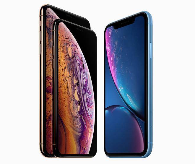 苹果iPhone XS天线信号较iPhone XR更胜一筹