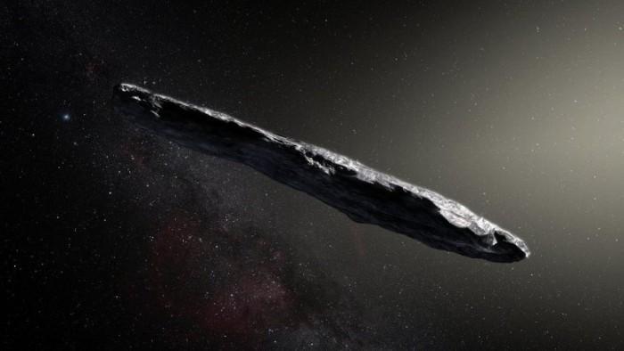 最新论文认为穿越太阳系的星际物体可能是飞船