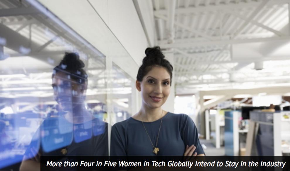 科技界女性在中国竞争最激烈:43%称有突破瓶颈