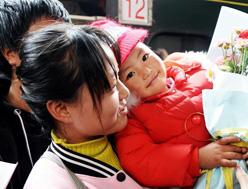 汶川、甘南先心病患儿抵京接受免费治疗