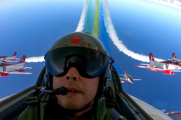 飞行员视角下的航展 为军迷专属定制