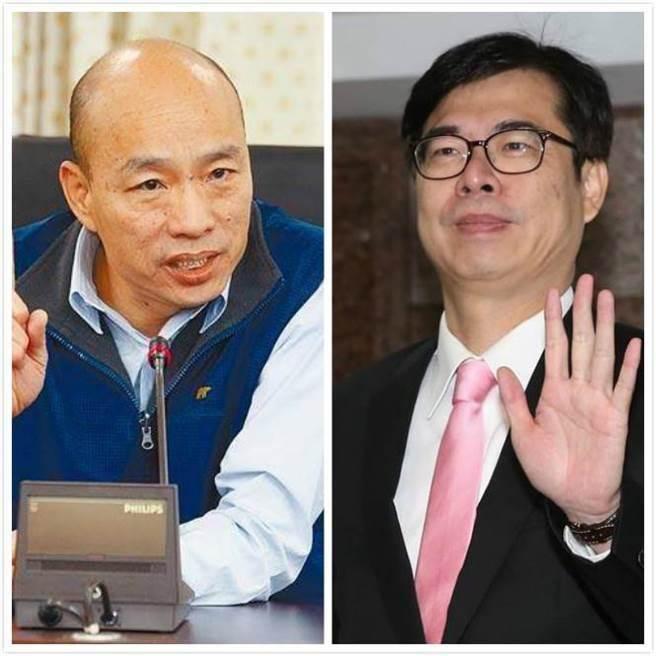 有望成高雄市长? 台最新民调:韩国瑜支持度逼近五成