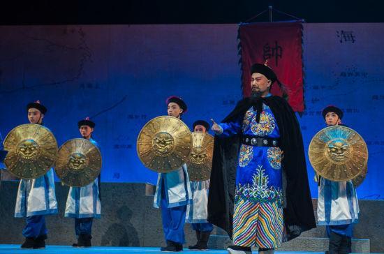 爱国主义题材大型川剧《南海李准》在广安首演