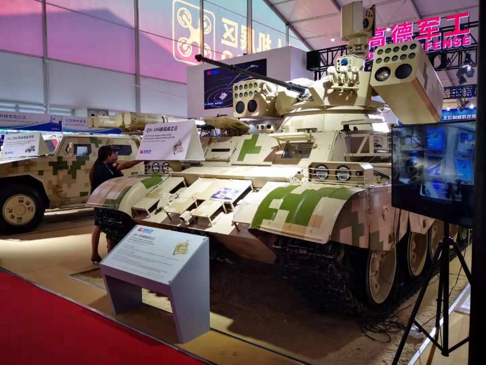 """继续""""五对轮""""传奇!中国民企将59坦克魔改成""""战场收割机"""""""