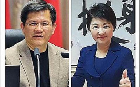 亲绿媒体民调:台中市长选举卢秀燕支持度35.7%林佳龙28.7%