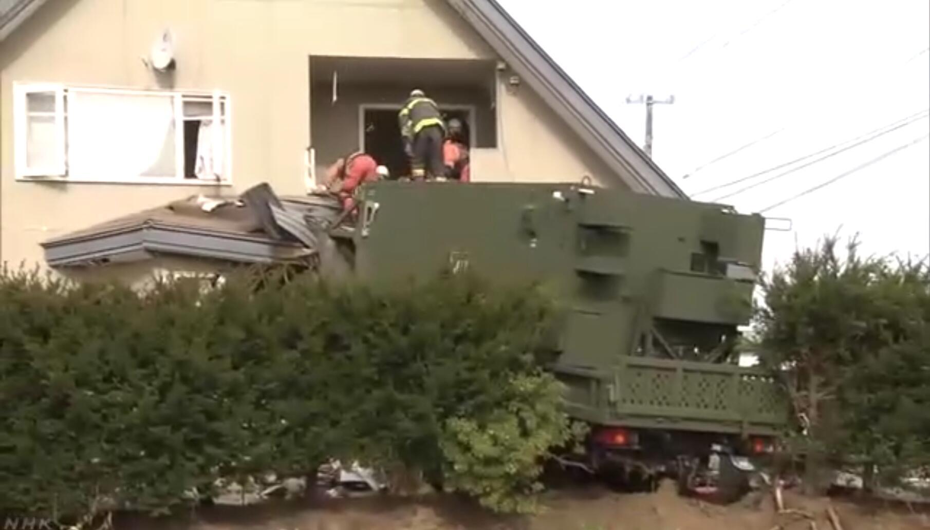 日本自卫队出车祸 所涉车辆上装有反导系统装备