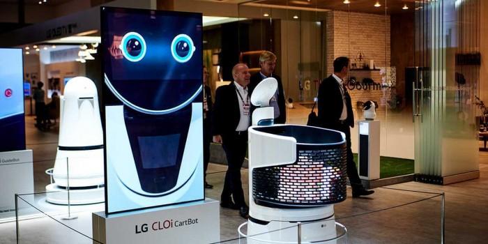 LG正在将机器人购物车带入零售店当中