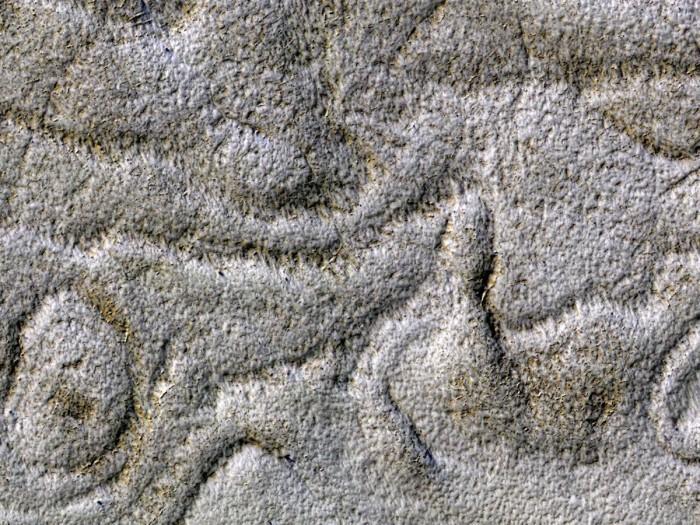 NASA公布火星新地形照:像上世纪70年代长绒地毯