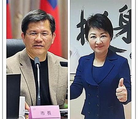 《联合报》民调:台中市长选举支持度卢秀燕43%林佳龙30%