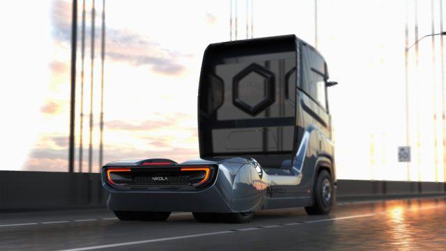 美国Nikola公司面向欧洲推出零排放氢动力卡车