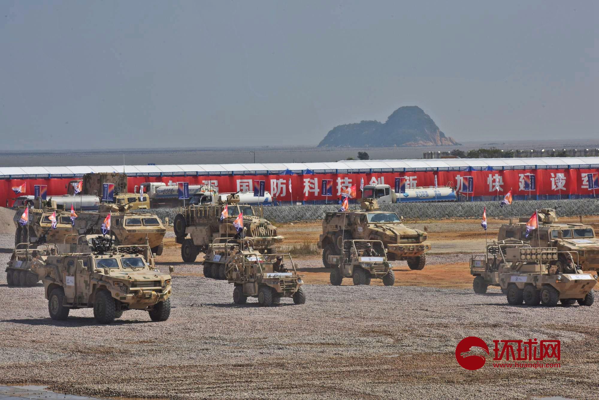 这画面如同战场:国产明星外贸坦克在航展彪悍展示