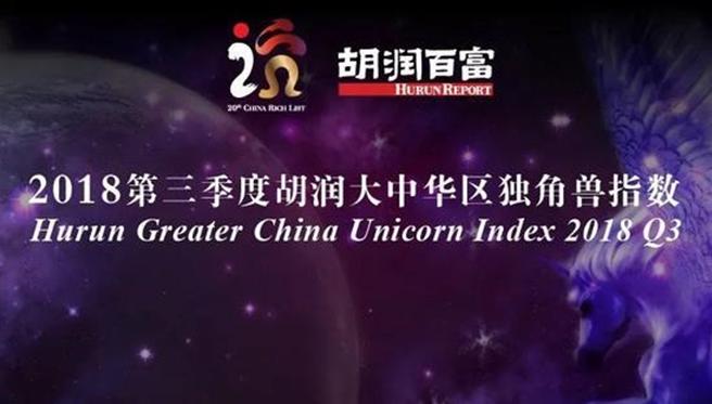 胡润研究院第四次发布独角兽指数 云从科技在榜