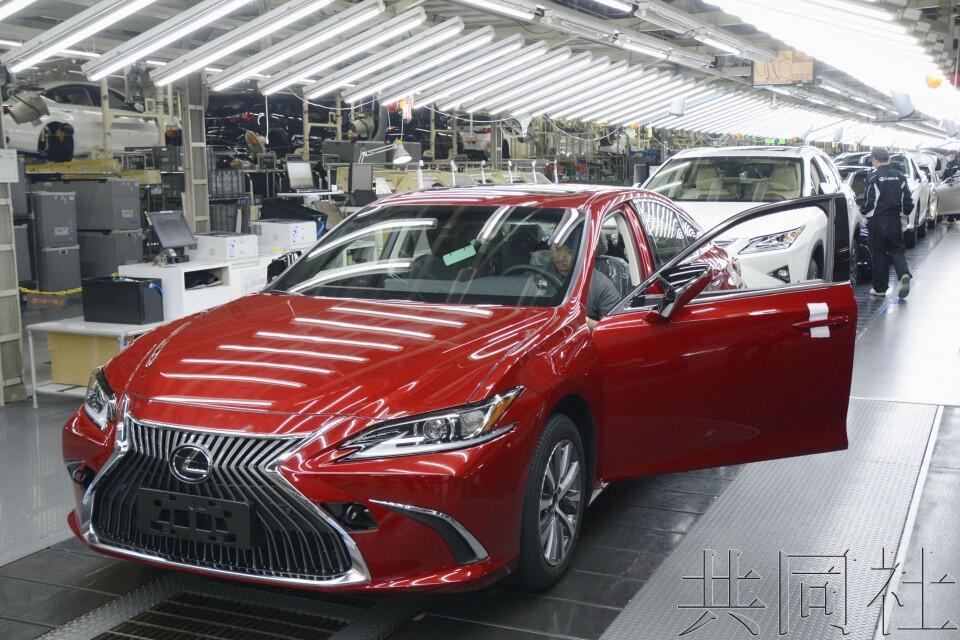 丰田开始量产新型雷克萨斯ES 期待轿车再获青睐