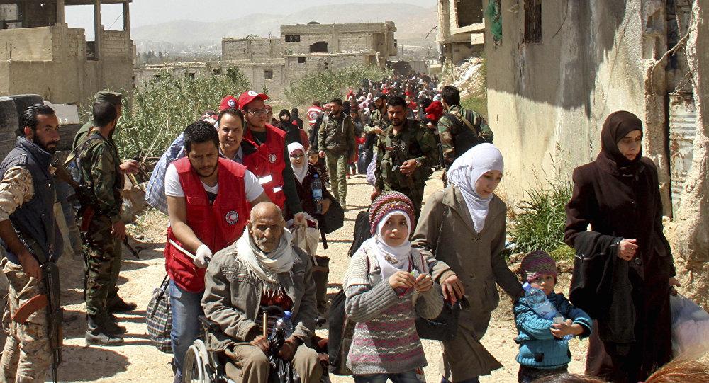 近三个半月来超过3.1万叙利亚难民自邻国返回家园