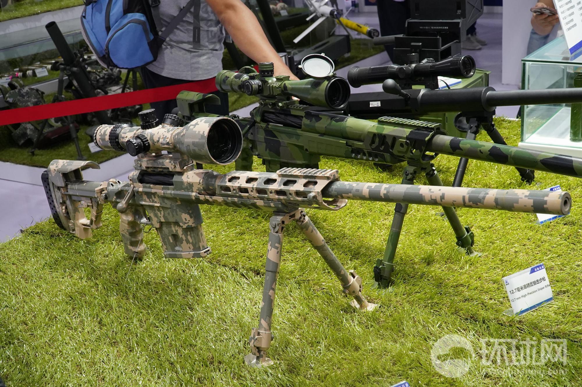 国产8.6毫米口径高精大狙亮相 造型相当时髦