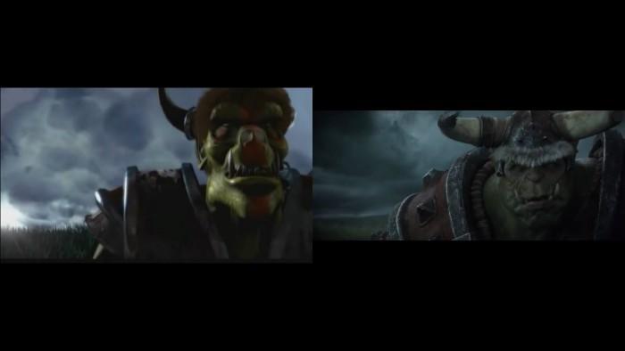 《魔兽争霸3:重制版》CG对比原版