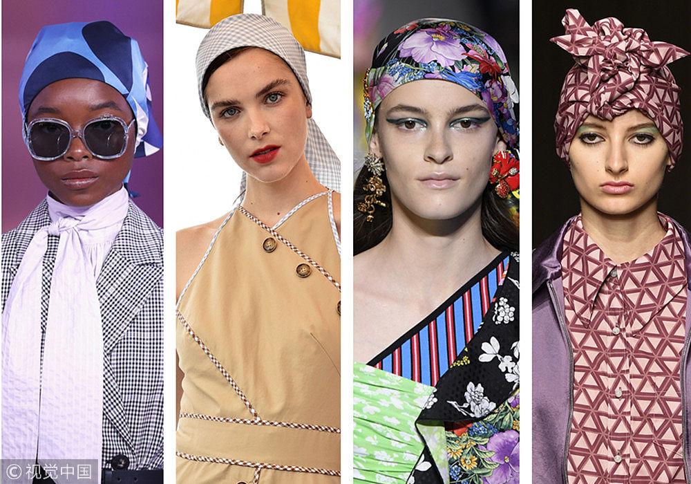 2019春夏流行趋势盘点:头巾