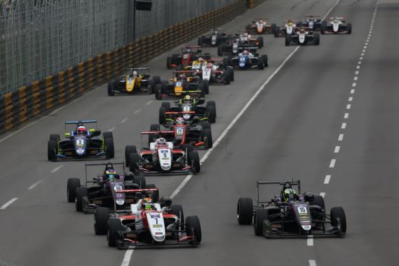 优科豪马轮胎为第65届澳门格兰披治大赛车FIA F3大奖赛提供轮胎
