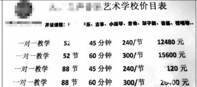 培训机构调查:九成违反禁令乱收费 年均收费超2万